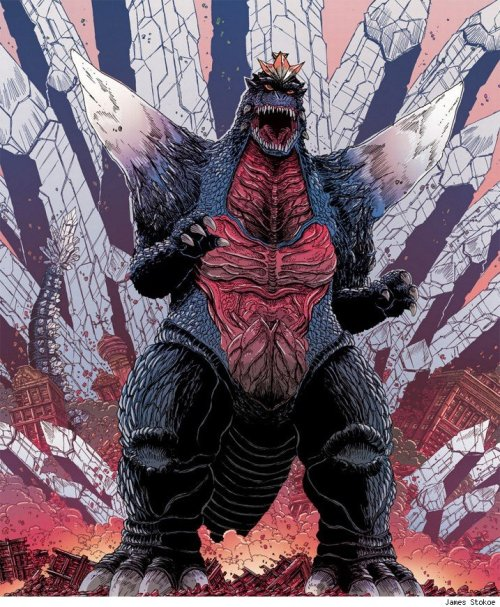 Godzilla by James Stokoe