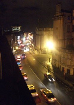 Balcony in Dublin 2010 (low quality, but I still liked it)