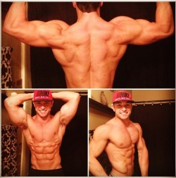 fitnessisfitfor-me:  steadymirin:  Kameron Bailey  follow for fitness :)