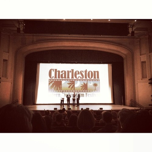 At the Charleston International Film Festival #chsarts Oh, the CULTURE!! (at Sottile Theatre, College of Charleston)