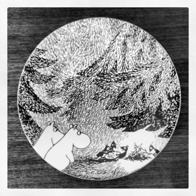 It's my #moominplate!!!