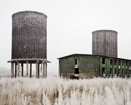 Abandoned Factory (Hunedoara, West Romania), 2011* by Tamas Dezso (Decline of the Eastern Civilization)