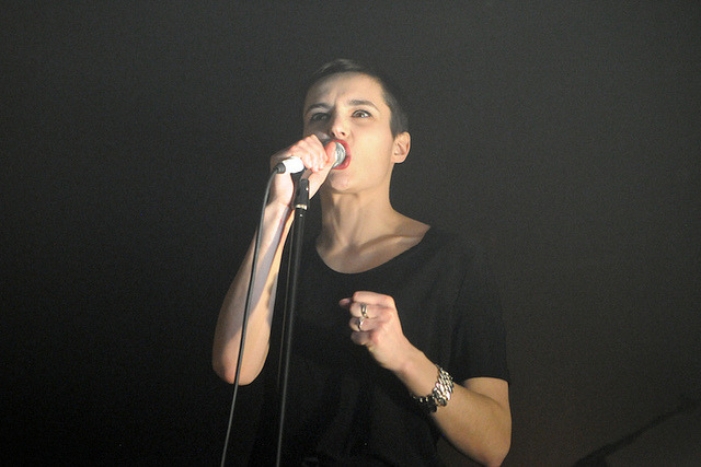 Savages @ Electric Ballroom, London 21/02/13 by The405 on Flickr.