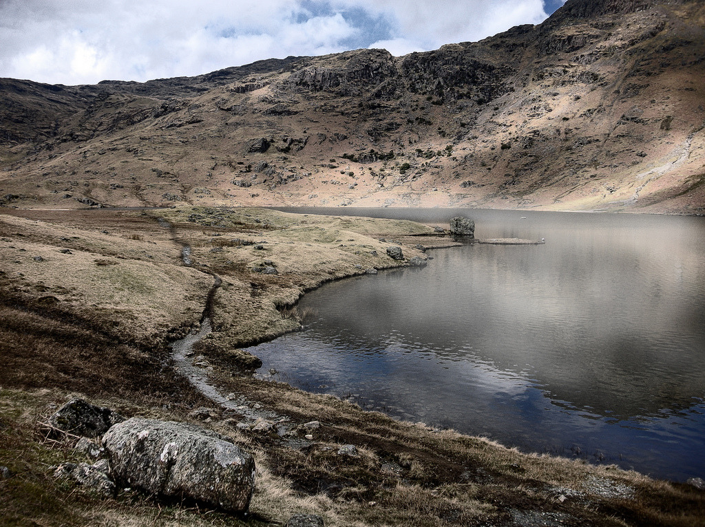 Easedale Tarn - #Explored (by asheers)
