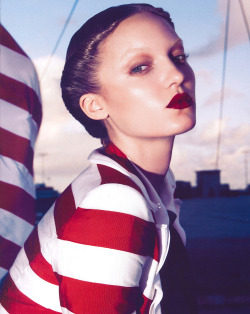"stormtrooperfashion:  Theres Alexandersson in ""Mystic Voyage"" by Camilla Akrans for Vogue Nippon, March 2011"