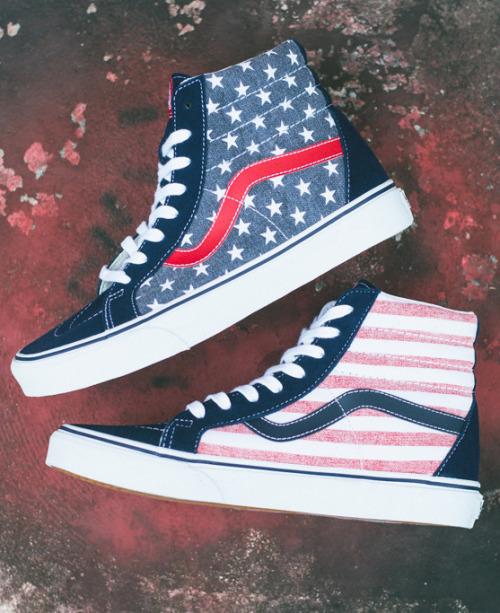 Vans Doren Sk8-Hi Reissue-American Flag.