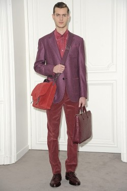 Loewe Menswear Fall 2013 Paris Fashion Week