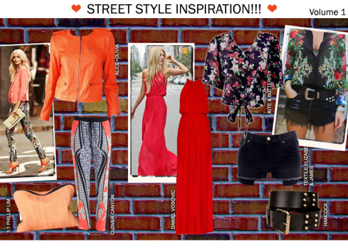 Fun & Flirty Looks to have this Spring/ Summer! Bright colors with a pop of prints will brighten your everyday wardrobe! 3.1 Phillip Lim  Sherbert 31 Minute Cosmetic Zip Clutch Bag https://bleuclothing.com/3.1-Phillip-Lim-Sherbert-31-Minute-Cosmetic-Zip-Clutch-Bag.html Alice and Olivia Orange Zipper-Sleeve Biker Jacket https://bleuclothing.com/Alice-Olivia-Zipper-Sleeve-Biker-Orange-Jacket.html Daniel Vosovic Red Silk Crossback Adaptation Gown https://bleuclothing.com/Daniel-Kosovic-Red-Silk-Crossback-Adaptation-Gown.html Kite and Butterfly  Black & Red Marlyn Elle Top https://bleuclothing.com/Kite-and-Butterfly-Black-and-Red-Marlyn-Elle-Top.html  TEXTILE Elizabeth and James  Black 'Annie' Shorts https://bleuclothing.com/Textile-Elizabeth-and-James-Black-Annie-Shorts.html