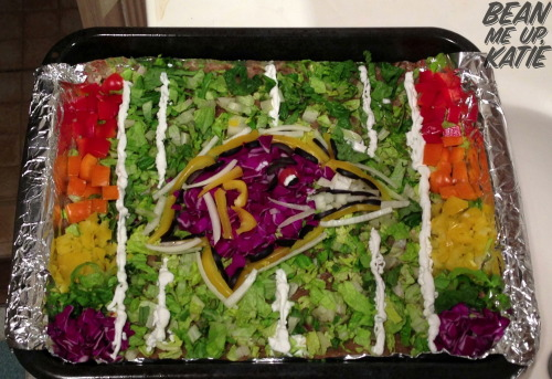 "Go Ravens ""Pride"" Dip.   First non- bean dip —- totally vegan and paleo friendly"