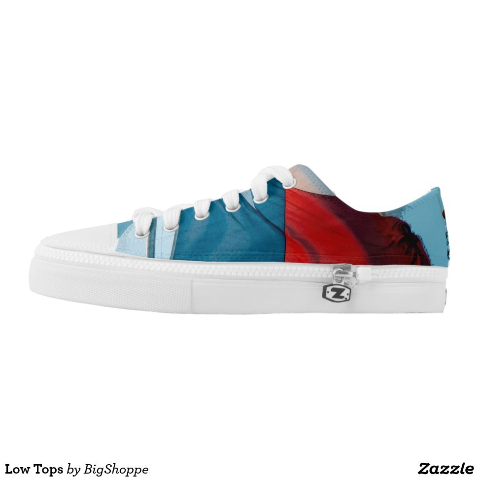 Low Tops - Unique Canvas Shoes With Interchangeable Tops  External image  Buy This Design Here: Low Tops Created by Fashion Designer: BigShoppe Look sporty, stylish and elegant in a pair of unique custom sneakers! Each pair of custom Low Top ZIPZ Shoes is designed so you can fit your style to any wardrobe, mood, party or occasion. Fashionable sneakers for kids and adults, ZIPZ shoes give you a unique and personalized way to express yourself!Low Tops Product Information - Unisex sizing: 4-13 Men's | 6-15 Women's - Material and fabric: Durable canvas tops, rubber soles - Buy multiple pairs! ZIPZ shoes are interchangeable, the top cover can be zipped on and off so you can easily switch up your style on the go - Rubber soles are manufactured with extra cushioned insoles and a specially designed arch support system to give your feet a comfortable and healthy fit - Quality you can trust: ZIPZ has been independently tested by SATRA for wear, use, and durability - Additional cost for designing on the tongue of the shoe - Low Tops are printed in Santa Fe Springs, CA #sneakers#shoes#footwear#style#fashion#sports#fashionista#OOTD#streetwear#fashionblogger