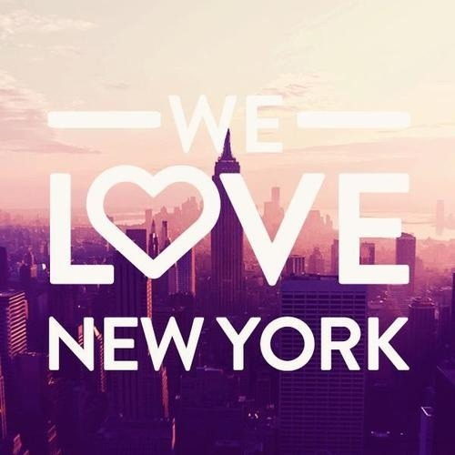 We love New York