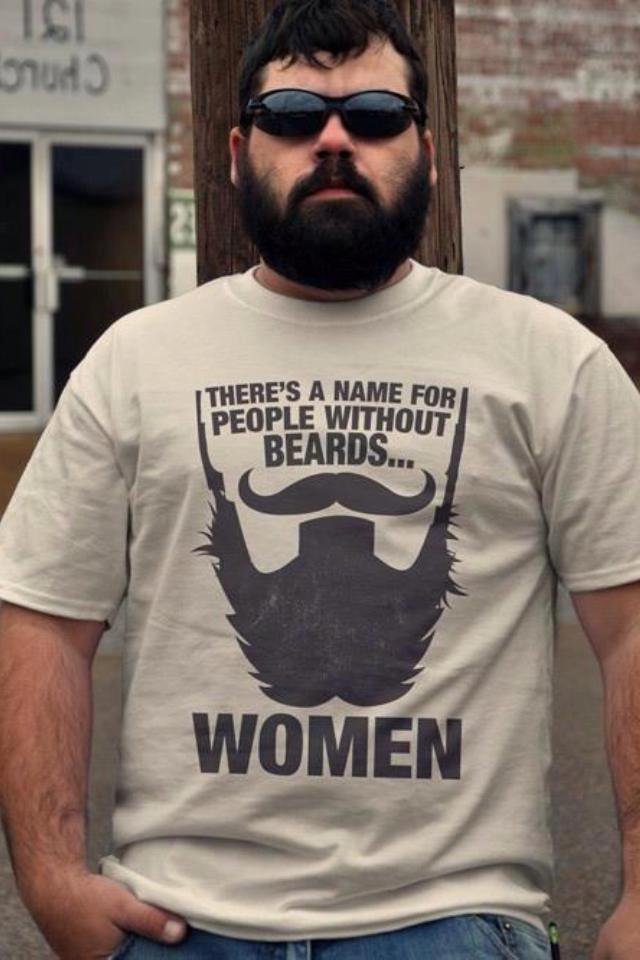 I got this photograph from the Team Beard facebook page :)  So true.