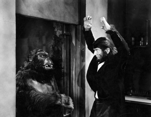 greggorysshocktheater:  The Ape Man (1943)