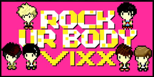 theknottyloft:  Vixx - Rock Ur BodyPixel Art Creation
