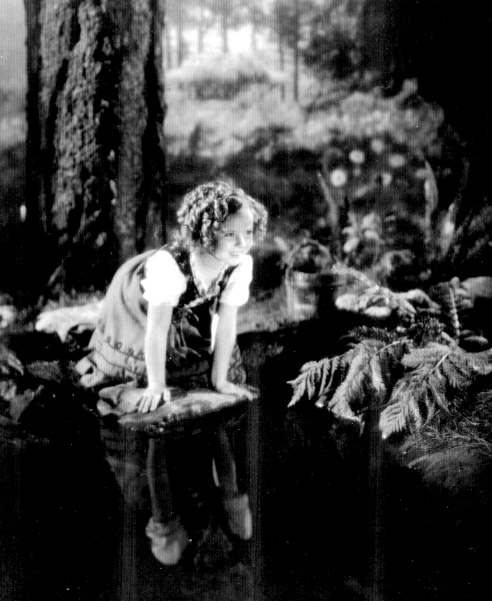 Shirley Temple in Heidi, 1937.