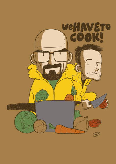 "breakingbadamc:  ""We have to cook"" by Bernardo Bulcão"