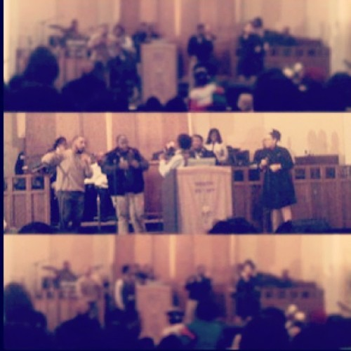 Praise team !!! We sung #Blessed