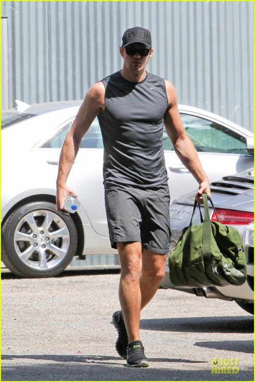Alexander Skarsgard Is Toned &amp Ready for a Gym Workout!