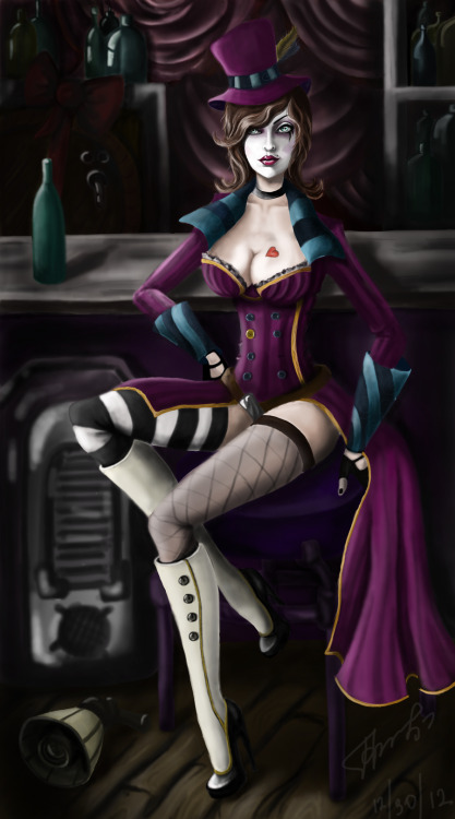 teddybaron:  Mad Moxxi (Borderlands) by *FairyFaily