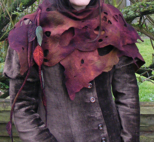 valkyriethais:  Etsy Transaction - Tattered Woodland Pixie Shawl Wrap on We Heart It - http://weheartit.com/entry/59788010/via/valkyriethais   Hearted from: http://www.etsy.com/transaction/124959005?