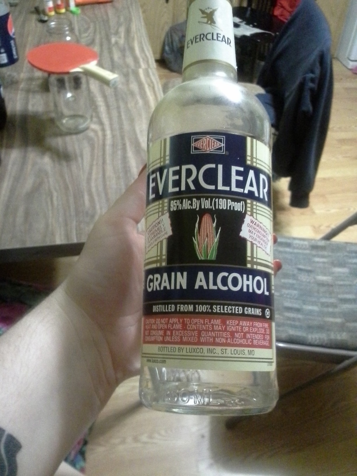 I'm on that good kush and everclear lol