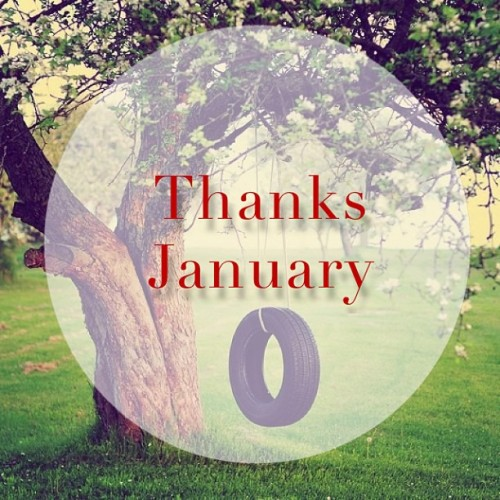 Bye…january 😘 #Lastday #January #2013 #beautiful #month #life #tree #tire #swing #green #leaves #l4l #likeforlike
