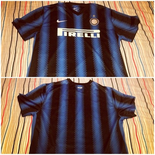 Inter Milan 2010-2011 Nike Home top.