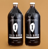 (via Installation Cold Brew 2-Pack 32oz Bottles – Installation Coffee Company) My birthday is in less than two months. I would not be mad if you got me mail-order coffee.