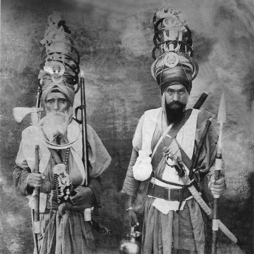 peashooter85:  Sikh Warriors, India, mid 19th century.