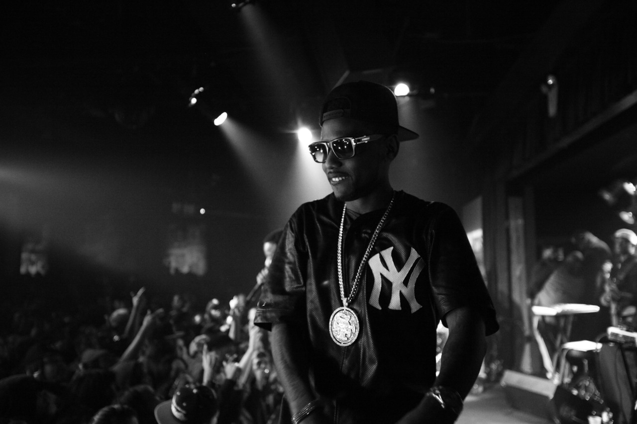 Fabolous at BB Kings. Photographed by Wesmore of Defending Champs