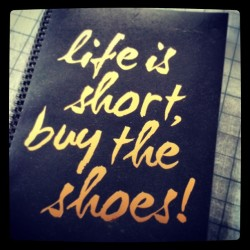 New work notebook. Thought it made a little sense #addicted #shoes