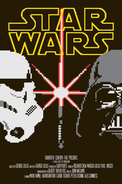 it8bit:  Star Wars 8-bit Posters Created byBrigid Thomas