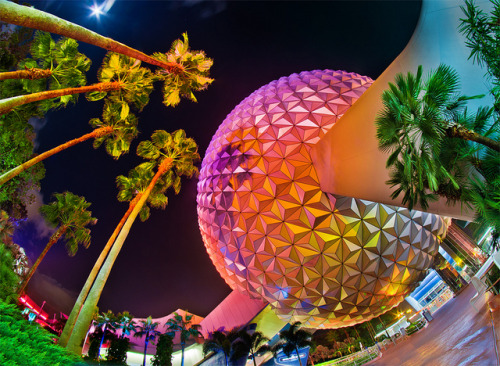 You Can Never Have Too Many Spaceship Earth Photos. by Tom.Bricker on Flickr.