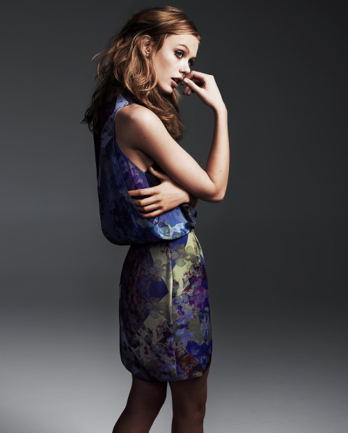 Tiger of Sweden PreAutumn 2013 Ad CampaignPhotographer: Hasse NielsenModel: Frida Gustavsson