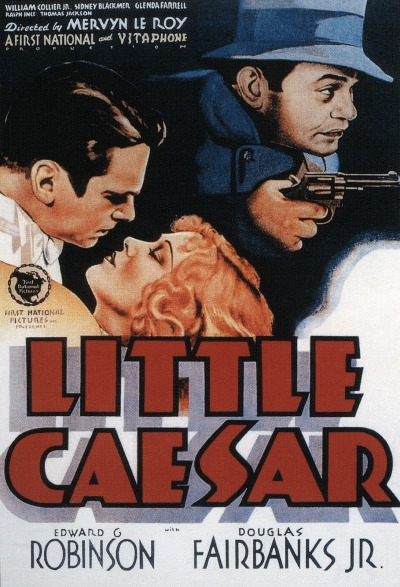 365 Day Movie Challenge - #113: Little Caesar (1931) - dir. Mervyn LeRoy I don't like it as much as The Public Enemy or Scarface, but as pre-Code gangster films go, it's certainly entertaining. It's easy to see how Edward G. Robinson made his career playing the title role; also nice to see Sidney Blackmer and George E. Stone in supporting roles.