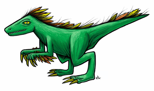 Feathered Dino || SketchbookPro on Samsung Galaxy Note 10.1 Tablet