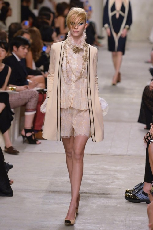 labellefabuleuse:  Chanel, Cruise 2014