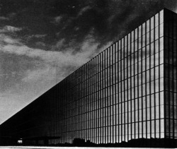 archiveofaffinities:  Eero Saarinen and Associates, Bell Telephone Laboratories, Holmdel, New Jersey, 1959- 1962