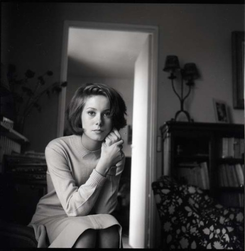 mudwerks:  (via The Peter Basch Archive by Eric Kroll | Le Journal de la Photographie)  Catherine Deneuve © Peter Basch