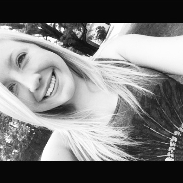 Happiness hit her, like a train on a track☺💜💕🚂 #blackandwhite