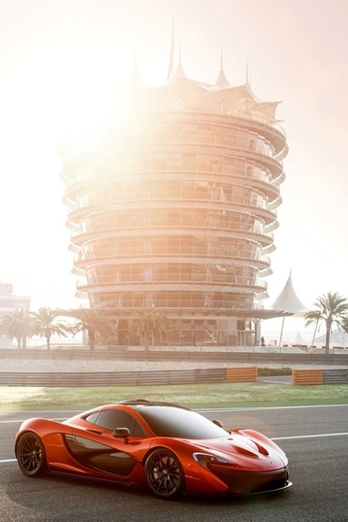 nonconcept:  McLaren Super Sports P1 by George Williams.