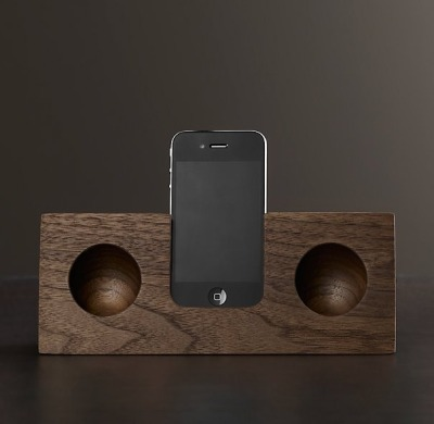 manchannel:  The Original Wooden Amplifier by Koostik