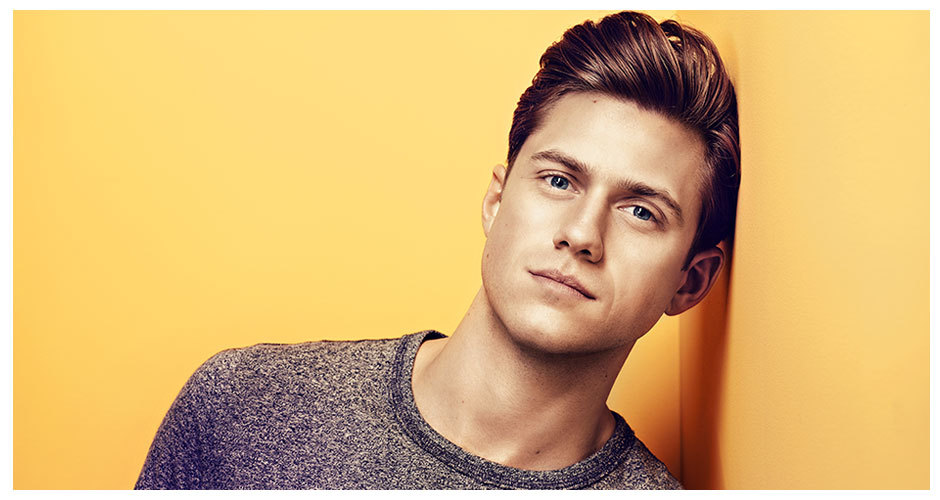 nutmegandjinger:  Aaron Tveit - USA Summer 2013 Promo Pics Source: USA