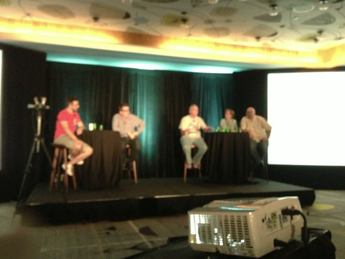 interactivitydigital:  Some brilliant minds on stage with Rand Fishkin, Peter Shankman, Alan Bleiweiss, Annie Cushing, and Greg Boser  #Powerhouse SoMe and Digital Marketing team!