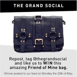 Hell yes I want this bag! @thegrandsocial  regram and tag for your chance to win my friends!