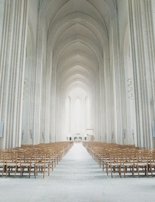 razorshapes:  Grundtvig's Church in Copenhagen, Denmark