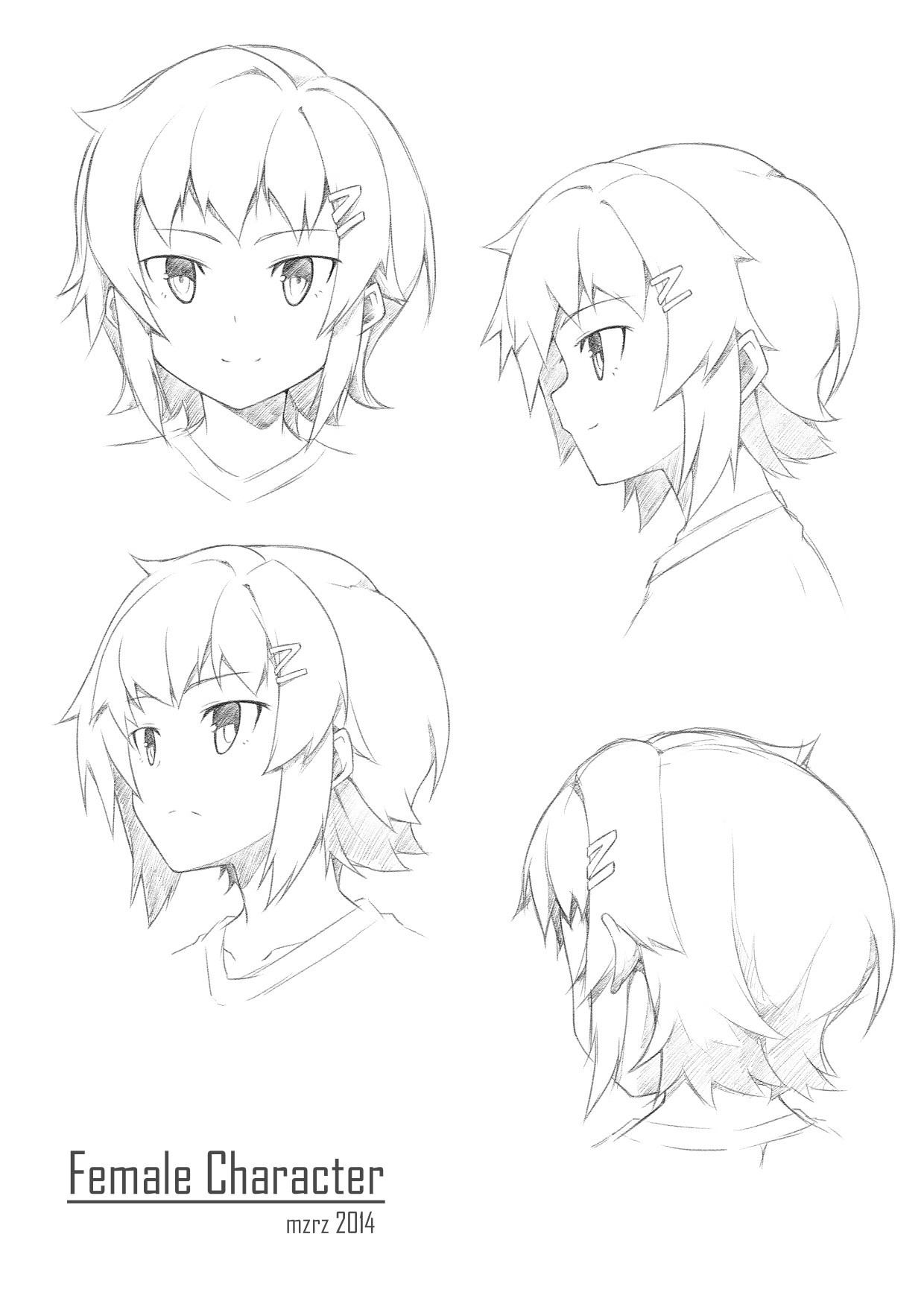 Learn How To Draw Faces In Different Angles Lecture