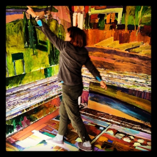 (Ida in her studio and home, Providence, RI.) Legacies in Paint  January 12 - May 5 http://www.newportartmuseum.org