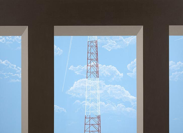 muninmuhin:  ALLAN D'ARCANGELO Pi in the Sky1981-82Acrylic on canvas48 by 66 in.  122 by 167.6 cm.