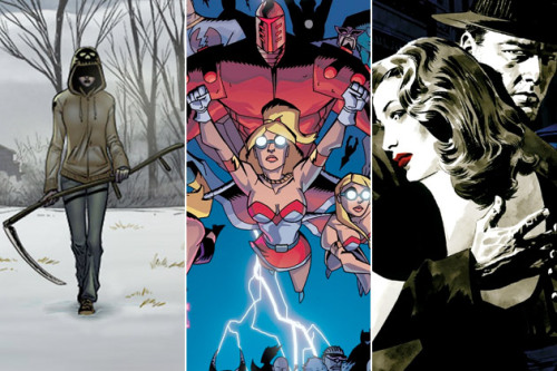 Ten Great Indie Comics That Deserve to Be the Next 'Walking Dead'  The ongoing success of AMC's 'The Walking Dead' (which just wrapped up its third season on Sunday) is definitive, popular proof that not every comic-based property has to be about superheroes. While Marvel and Disney plot out the next ten years and DC and Warner Bros. struggle to get a Justice League movie going, tons of incredible creator-owned comics are being overlooked, despite their amazing cinematic potential. 'The Walking Dead' may be the first massively successful TV series to emerge from the world of non-superhero comic publishing, but it certainly won't be the last. Hey, Hollywood: these ten are on us. Pick up the rights and thank us later after they transform into critically acclaimed smash hits for you. Just a note: the one restriction for this list was that we stick to current or recent comics, series that haven't been sitting around and gathering dust for too long. Many of these comics are only a year or two old…so if you like what you hear, you should give them a shot. There's plenty of time to dive in.  [Screencrush] Di una ho tradotto in italiano i primi tre volumi, ne sto collezionando un'altra, tre ulteriori sono nella mia wishlist.